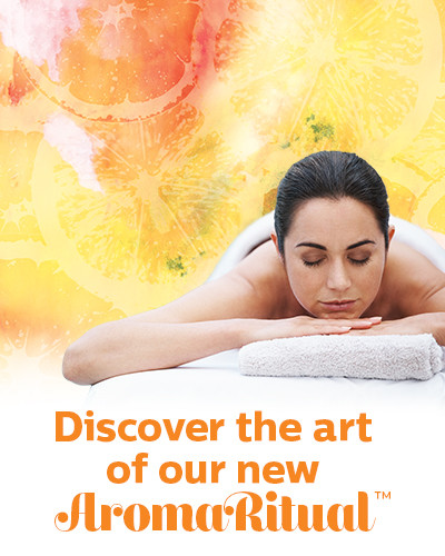 Experience the art of our new AromaRitual