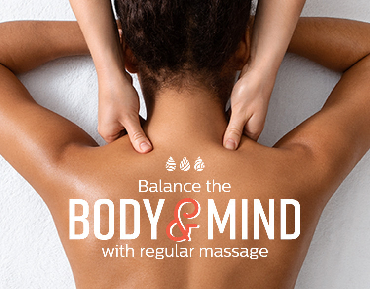 Become a member and enjoy the benefits of monthly massage