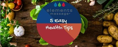 Banner Image for 5 Easy Ways to be Healthier