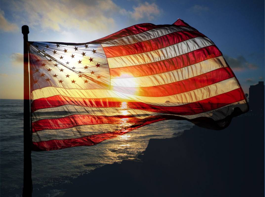 Banner Image for Hail the American flag