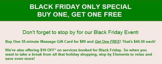 Banner Image for BLACK FRIDAY ONLY - GIFT CARD SPECIAL - BOGO! Thats $44.50 each