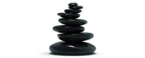image of a stack of stones