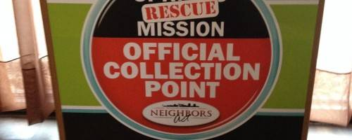 Banner Image for Official Collection Point for the Springs Rescue Mission
