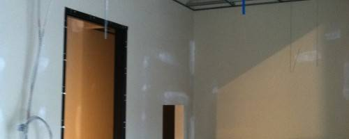 Banner Image for Ceiling grids are up!