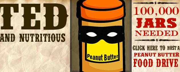 Banner Image for ETM Partnering with Hunger Task Force 100,000 Jars of Peanut Butter Drive