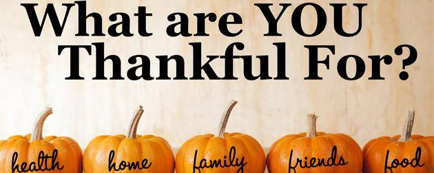 Giving Thanks: Appreciate More, Worry Less