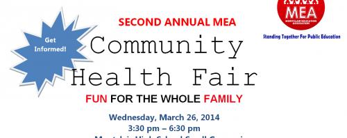 Second Annual MEA Community Health Fair