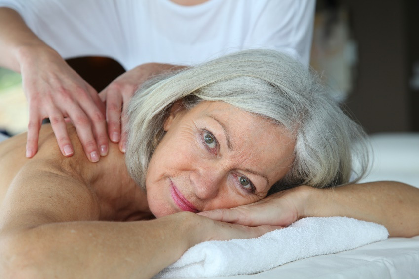 Banner Image for Massage Can Help Manage Menopause