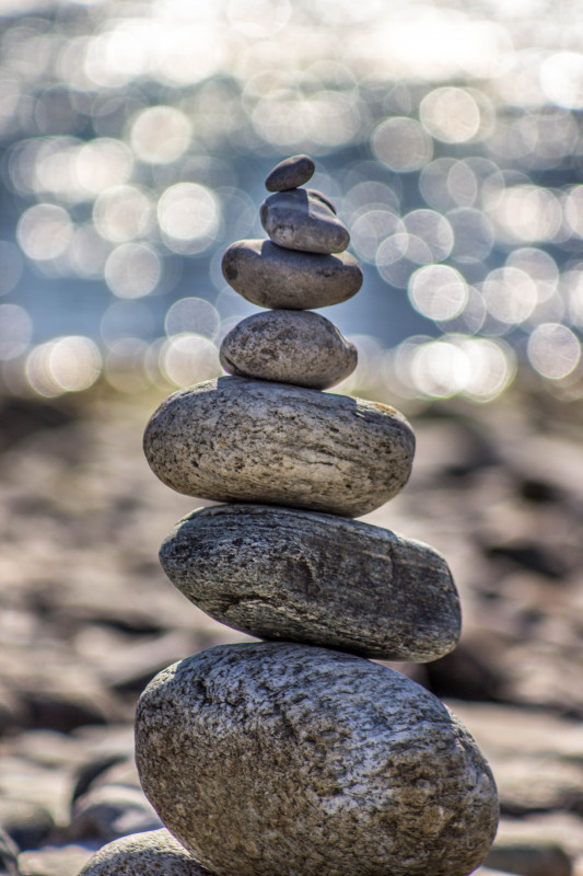 A stack of rocks. Photo by Deniz Altindas on Unsplash