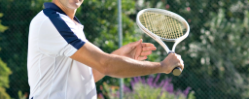 Banner Image for Summer Activities - Massage and Tennis