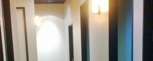 Hallway to Massage Rooms