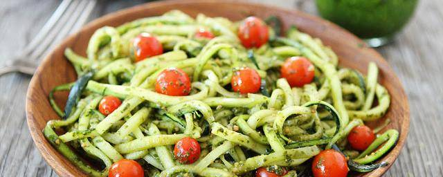 Banner Image for Zucchini Pasta with Pesto