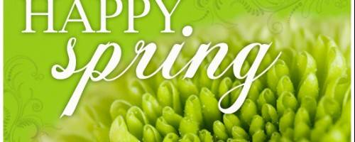 Banner Image for Spring has Sprung!