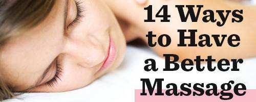 Banner Image for 14 Things Your Massage Therapist Wants You To Know