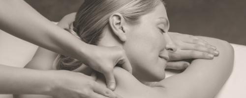 photo of woman having massage