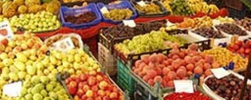 fruit at a market