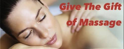 Banner Image for Give the Gift of Massage This Season!