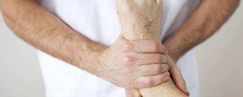 photo of rehabilitation massage