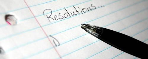 photo of resolutions