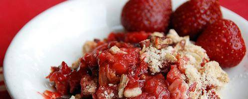 Banner Image for Strawberry Rhubarb Crisp