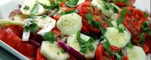 Banner Image for Seasonal Recipe: Tomato Cucumber Salad