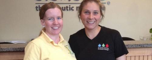 photo of Elements Massage Therapist & Client