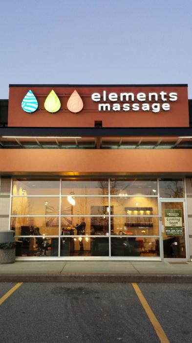 Elements Massage - Langley