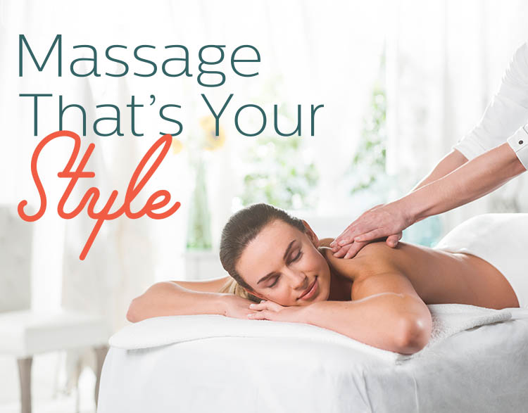 massage that's your style