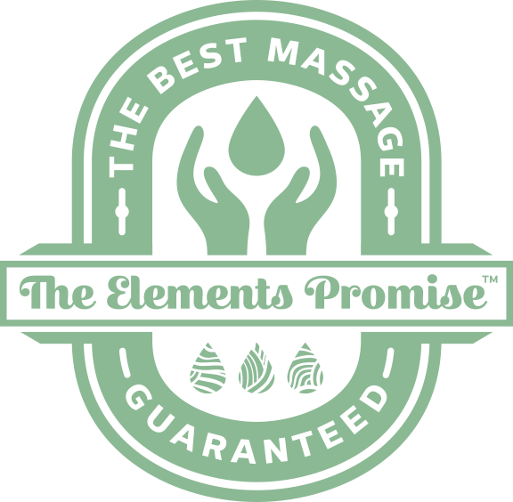 Elements Promise, The Best Massage Guaranteed.